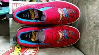 Spiderman Slip On Shoes