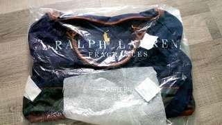 🚚 BN Authentic Ralph Lauren Duffel Bag