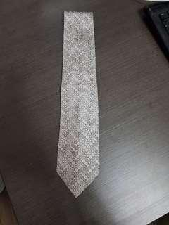 Authentic Gucci Grey Tie