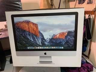 自售一iMac with Retina 5K display 27,2015 late,已過保,面板膠膜未撕,少使用出清