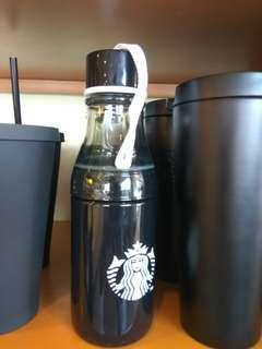 Starbucks Tumbler Sunny Bottle Black with Syren Logo 2018