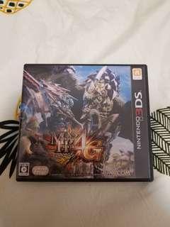 Nintendo 2DS 3DS Monster Hunter 4G
