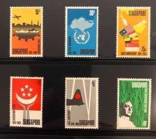 1969 150th Anniversary of Founding of Singapore