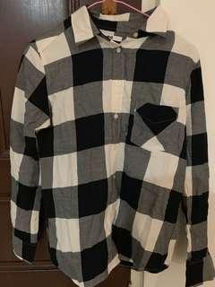 B&W flannel