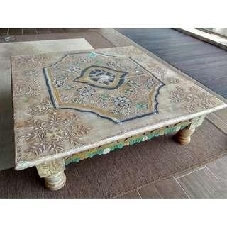 🚚 Hand painted coffee table