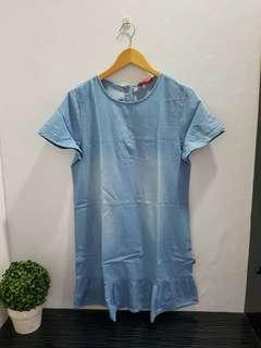 7010 dress jeans acid wash