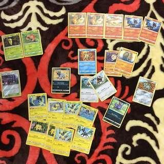 Pokemon Cards TCG Team Up Singles