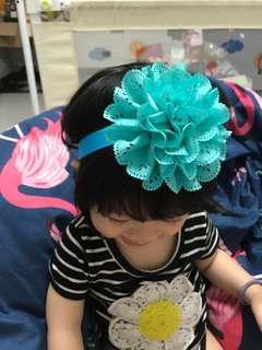 🚚 大花裝飾嬰兒髮帶