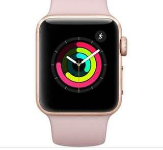 🚚 Apple i watch series 3 - 38mm with 8 mths warranty as of 1 Apr 19