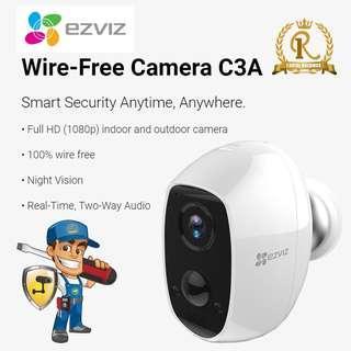 Battery Operated Wireless CCTV 1080P