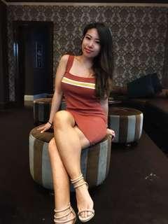 Bardot stretch dress size 8 small