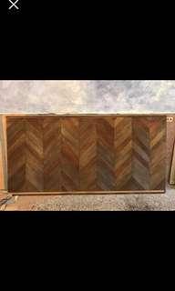 木頭牆面道具裝飾