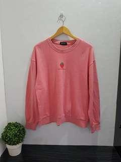 W01 Sweater strawberry jumbo