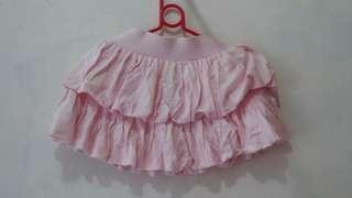 Girl puff skirt 100% cotton