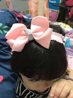 🚚 大蝴蝶結🎀嬰兒女童髮帶