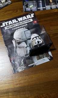 🚚 Starwars mini helmet commander bacara