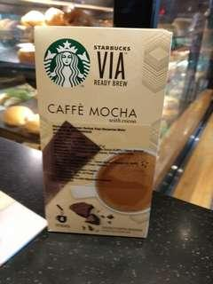 Starbucks Coffee VIA Caramel Latte, Caffe Mocha dan Vanilla Latte