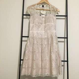 BNWT Delicate Japanese Lace Dress