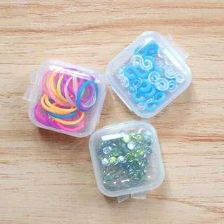 🚚 Clear Square Container