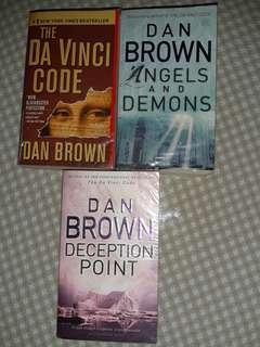 Dan Brown - Da Vinci code, Angels & Demons, Deception Point