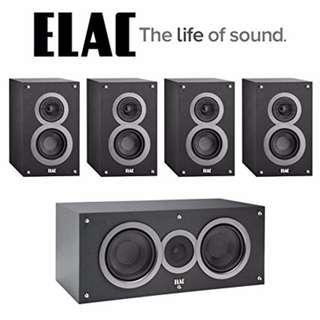 ELAC Debut B6 Surround Sound Systems - like new - VERY CHEAP