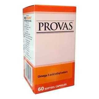 PROVAS Omega 3 Fish Oil Softgel