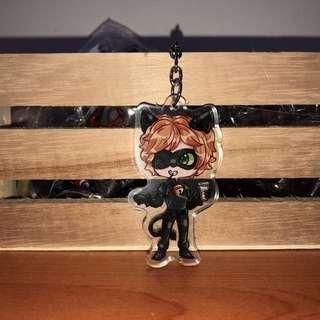 LIMITED Chat Noir Key Charm