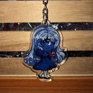 LIMITED Sapphire Key Charm