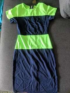 🚚 Colorblock dress