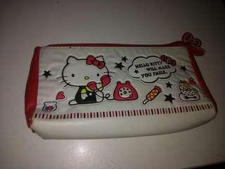Hello Kitty 筆袋皮製
