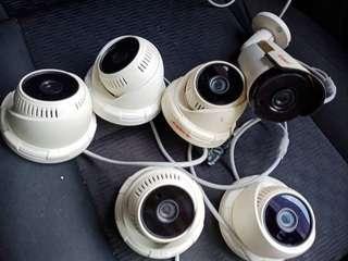 CCTV Complete Set good condition to letgo RM 999