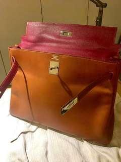 Hermes Kelly 35 99% new 愛馬仕 box leather