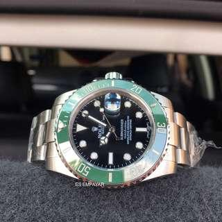 Rolex Submariner Green Bezel