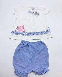 NEW WITH TAG SALE 50% - set babies little M size S
