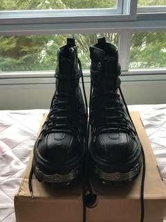 Anarchy Stomper Boots US9