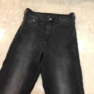 H&M Black (Grey) Highwaist Jeans