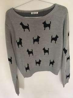 REPRICE animal sweater