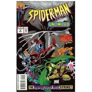 5x SPIDER-MAN: THE MARK OF KAINE SET (MARVEL COMICS)