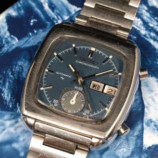 """Vintage Seiko Flyback Chronograph """"Monaco"""" 7016-5000"""