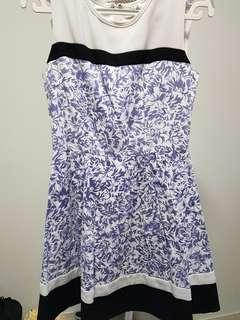 [SALE] Pretty Blue Floral Dress