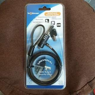 🚚 NoteGuard Security Cable