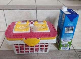 Plastic kitchen set