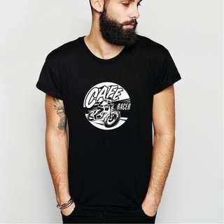 Cafe Racer 100% cotton T-Shirt!