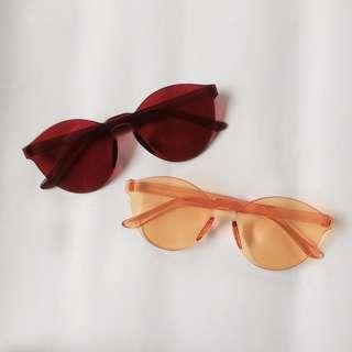 Kacamata Red /Yellow