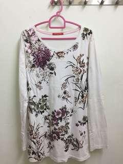 Cheetah Ladies Floral Shirt