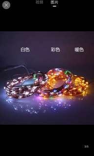 太陽能燈中LED裝飾燈(暖色)