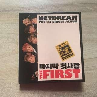 NCT DREAM - THE FIRST ALBUM