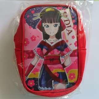 🚚 Love Live! Smartphone / Ezlink Pouch! DIA- MyMai Kimono - from Japan Official - Aqours Sunshine!!