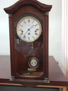 🚚 Preloved small hanging Grandfather Clock for sale