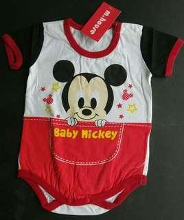 Baby mickey romper